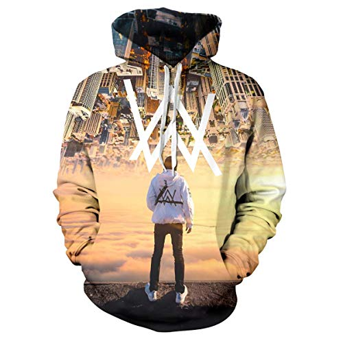 Neutral Classic Hoodie Dj 3D Printed Alan Faded Walker Young Boys And Girls Unisex Fashion Hoodie Inception No.5 M