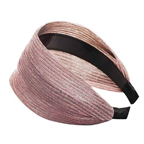 Barlingrock Bandas para la Cabeza de Seda sólida para Mujeres Diadema