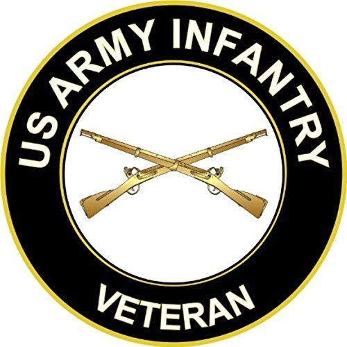 us army infantry decal - 2