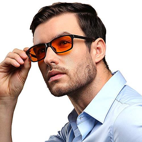 JYCDD Blaulichtfilter Brille Hochwertige Computer Brillen Professional Blaulicht- und Blendschutz für PC,Handy und Fernseher,Pro,99% Anti Blue Light