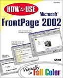 How to Use Microsoft FrontPage 2002