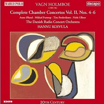 Holmboe: Chamber Concertos Nos. 4-6