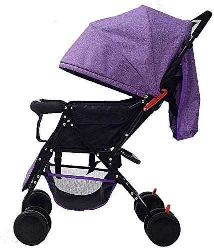 Why Choose GPWDSN Pushchair Rain Cover, Baby Cart, Folding Portable Baby Carriage Wheelbarrow Reclin...
