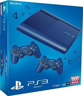 PlayStation 3 - Konsole Super Slim 500 GB blau (inkl. 2 DualShock 3 Wireless Controller blau) (B00AXYATFE)   Amazon price tracker / tracking, Amazon price history charts, Amazon price watches, Amazon price drop alerts