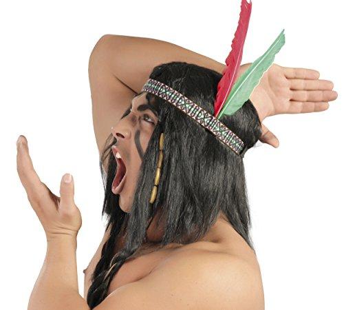 Guirca- Penacho plumas Indio, u (13238.0)