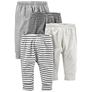 Simple Joys by Carter's Boys' 4-Pack Neutral Pant