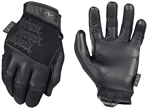 Mechanix Recon Black Gloves, Large