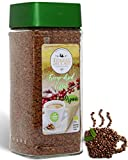 Organic Freeze Dried Instant Coffee | Medium Roast | Robusta Premium Quality Soluble | Gluten Free | Non GMO | Fair Trade | Kosher | Liofilizado Cafe Instantáneo | Tierras Del Cafe | 3.53 Ounces Jar