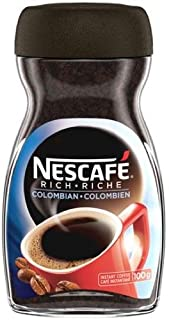 NESCAFÉ Rich Colombian, Instant Coffee, 100g Jar