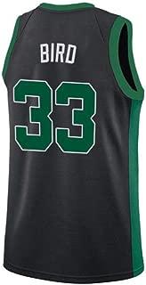 Mens Bird Jersey 33 Larry Boston Adult Basketball