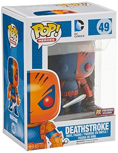 Pop Heroes Deathstroke Vinyl Figure