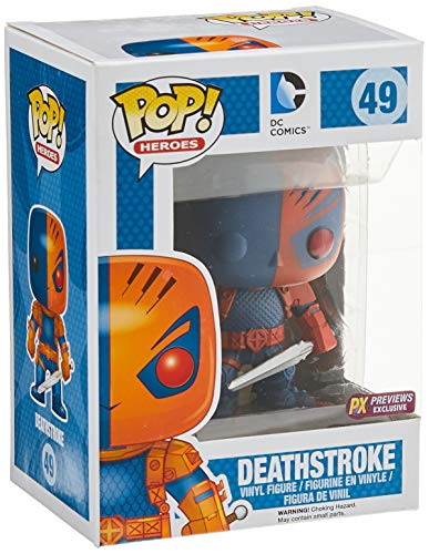 Pop! Heroes Deathstroke PX Vinyl Fig