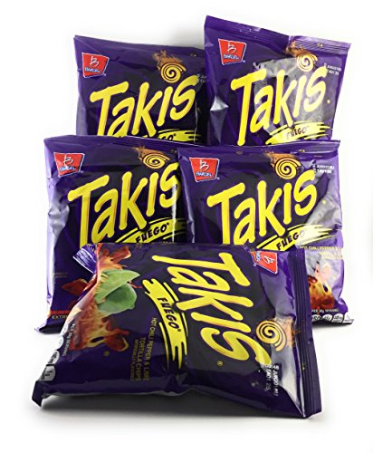 Barcel Takis Fuego Hot Chili Pepper & Lime Tortilla Chips - 4oz