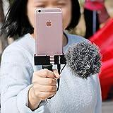 Ulanzi Adattatore per treppiede Smartphone Iron ST-02s con Supporto Verticale per iPhone X 8 più treppiede Mobile Samsung