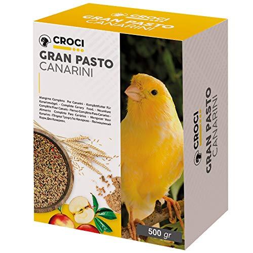 Croci Gran Pasto Canaris pour Oiseau 500 g - Lot de 6