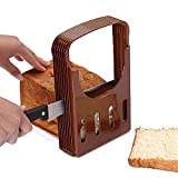 Bread slicer, bread/bake/bread slicer cutter, compact foldable bread sandwich toast bread...