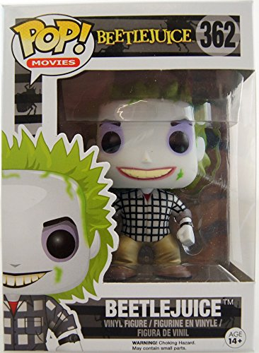 Funko - Figurine Beetlejuice - Beetlejuice Check Shirt Exclu Pop 10cm - 0889698113434