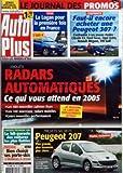 AUTO PLUS [No 854] du 18/01/2005 - AUTO PLUS - ESSAI - LA LOGAN POUR LA PREMIERE FOIS...