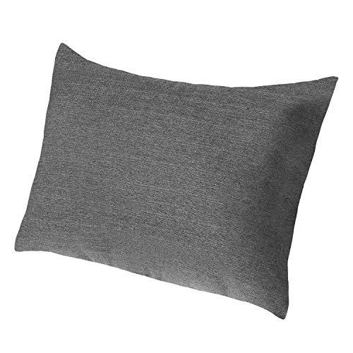 Extra großes Sofakissen von Salosan®. Lounge- und Rückenkissen, Kopfkissen, Dekokissen. Größe ca. 60x80 cm. Farbe: (schwarz)