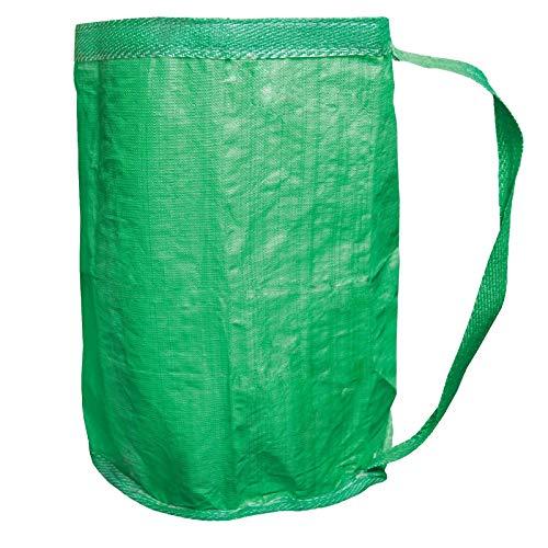 Grafner® Gartensack mit Umhängegurt | 280 Liter | sehr stabil | belastbar bis 100 kg | doppelte Nähte | verschließbar | reißfest | Gartentasche Laubsack Gartenabfallsack | Menge NACH Wunsch (1)