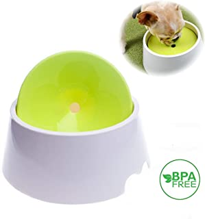 Petvins Dog Water Bowl Pet Slow Feeder 2 in 1 Spill Proof Cat Floated Water Dispenser 1000ml