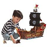 KidKraft Adventure Bound Wooden Pirate Ship, Multi