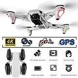 NXWL Drone Pliant, positionnement GPS Flux Optique Drone Quatre Axes 25 Minutes de tir de Zoom de Vie de la Batterie Vous Permet de Voir Plus Loin et Plus Claire