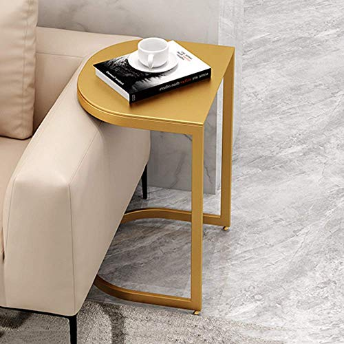 zvcv End Tables Sofa Side Table Marble Coffee Table Solid Wood Corner Table Bedside Table 40 * 35 * 60CM (Color : A) (Color : B)