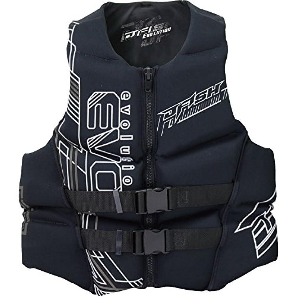 曲がった険しい発言するジェイフィッシュ ライフジャケット ネオプレン JNV381 ウエット素材 JCI予備検査認定 ジェットスキー水上バイク 水上オートバイ