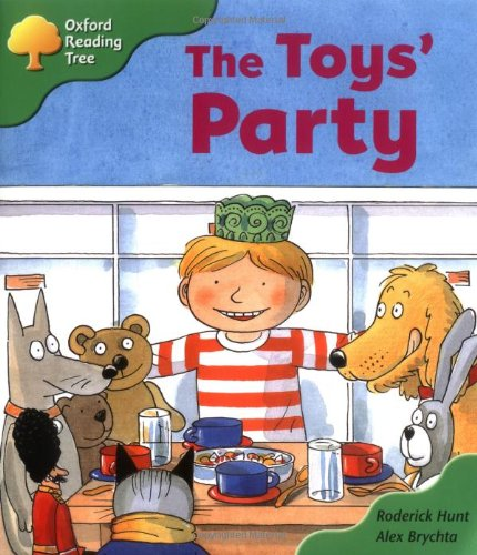 Oxford Reading Tree: Stage 2: Storybooks: the Toys' Partyの詳細を見る