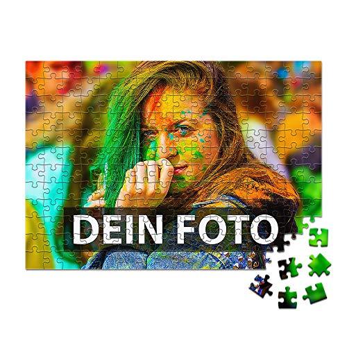 Foto-Puzzle 24 bis 1.000 Teile zum selbst gestalten mit eigenem Bild Bedrucken Lassen / 192 Teile