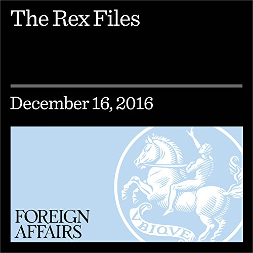 The Rex Files audiobook cover art