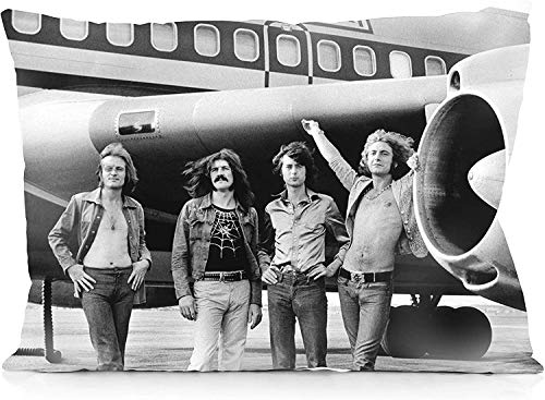 Marrine Led Zeppelin Pillowcase Both Sides Print Zipper Throw Pillows Covers 20x30 Inches