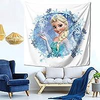 アナと雪の女王2 (1) ファッション多機能タペストリー家庭飾りタペストリー、軽くて、柔らかくて、丈夫で、洗いやすいです。寮の装飾、内室、ピクニック用の布、廊下の掛け物、テーブルクロス、ベッドカバーなど