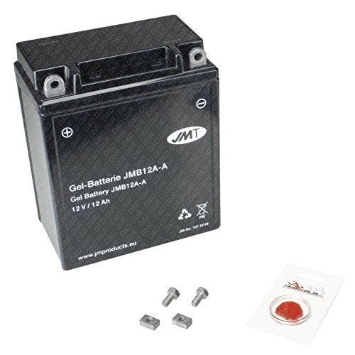 Gel-Batterie für Honda CM 400 T, 1980-1981 (NC01), wartungsfrei, inkl. Pfand €7,50