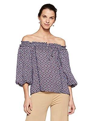 Allen Solly Women's Floral Regular Fit Shirt