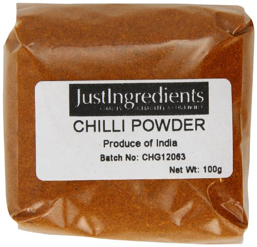 JustIngredients Essential Chile en Polvo - 5 Paquetes de 100 gr - Total: 500 gr