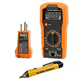 Klein Tools 69149 Multimeter Test Kit, Klein Multimeter, Noncontact Voltage Tester and Outlet...