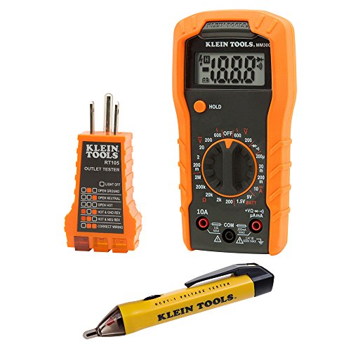 Klein Tools 69149 Multimeter Test Kit, Klein Multimeter,...