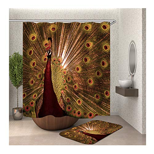 Peacock Shower Curtain Urban Outfitters