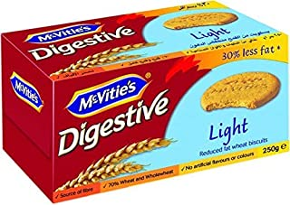 McVities Digestive Light Biscuit, 250 gm
