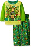 Teenage Mutant Ninja Turtles Boys' Toddler 2-Piece Pajama Set, Green, 2T