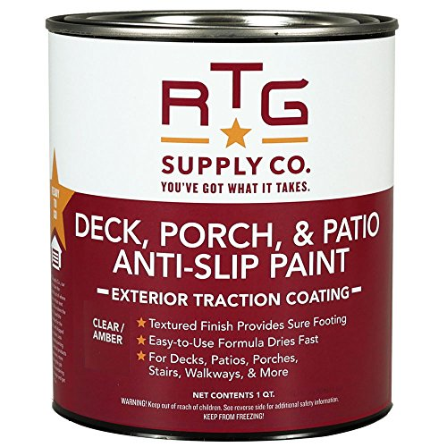 RTG SUPPLY CO. Deck, Porch, & Patio Anti-Slip Paint