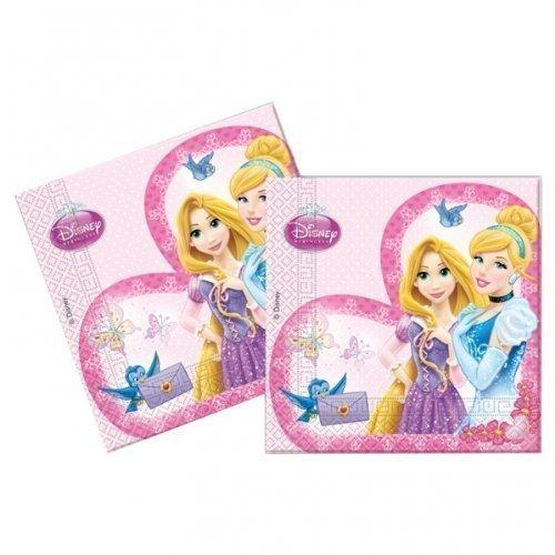 Disney Princesse Lot de 20 serviettes en papier
