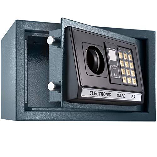 TecTake Elektronischer Safe Tresor inklusive 4 Batterien -Diverse Modelle- (20x31x22cm)