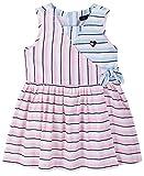 Tommy Hilfiger Girls' Dress, Pink Stripes, 3T