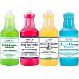 Stanley Home Products Home Cleaning Kit - Complete Home & Bathroom Cleaning Products w/ Multi-Surface Cleaner, Toilet Bowl Refresher, Degreaser Concentrate & Soak Liquid