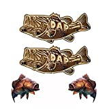 Soporte de madera para caña de pescar de boca grande, soporte de almacenamiento de caña de pescar montado en la pared para puerta de garaje,...