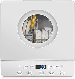 Lavavajillas completamente automático, hogar, mini escritorio, instalación gratuita, gabinete de desinfección incorporado, máquina de cepillado, secado inteligente, desinfección a alta temperatura