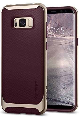 Spigen Cover Galaxy S8 Plus Neo Hybrid Compatibile con Samsung Galaxy S8 Plus Cover Custodia - Burgundy